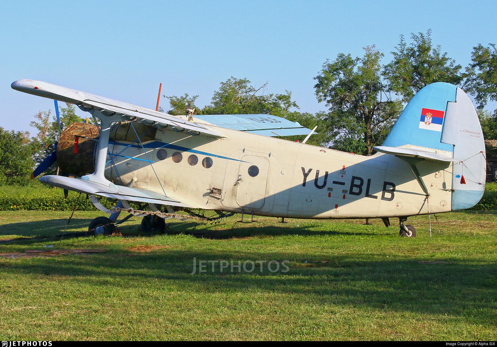 YU-BLB - PZL-Mielec An-2R - Ciklonizacija DDD - Novi Sad