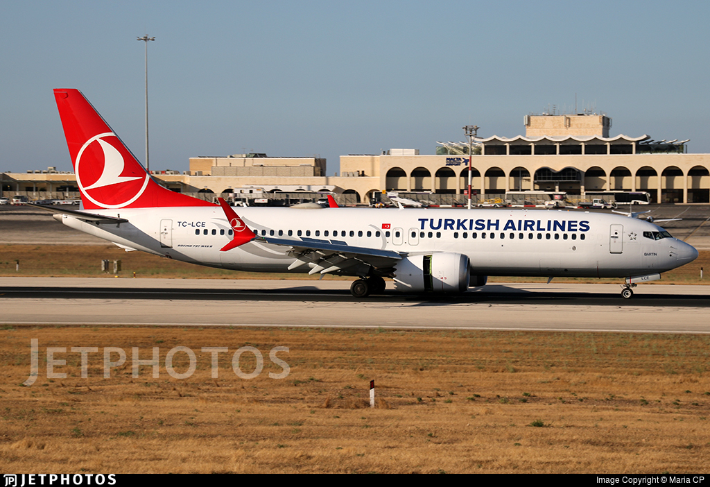 TC-LCE - Boeing 737-8 MAX - Turkish Airlines