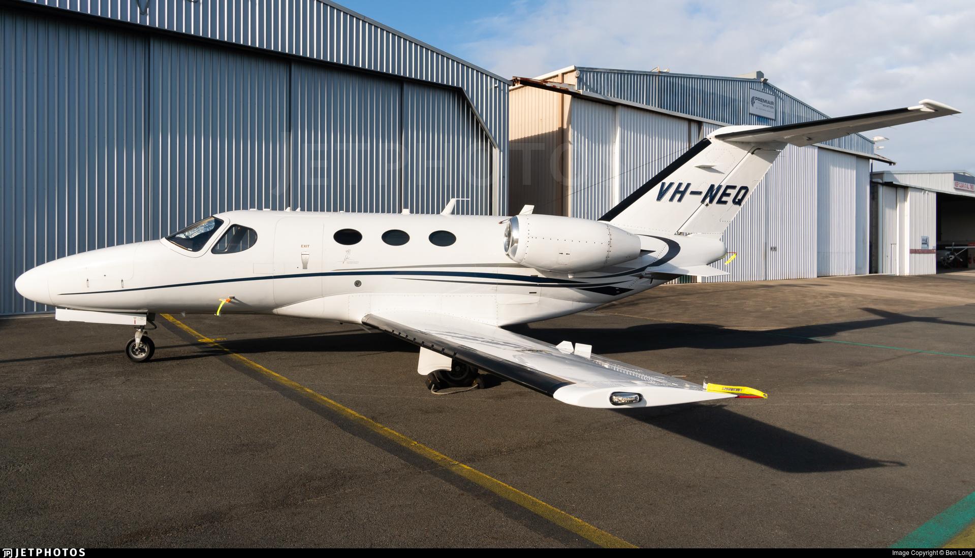 VH-NEQ - Cessna 510 Citation Mustang - Private