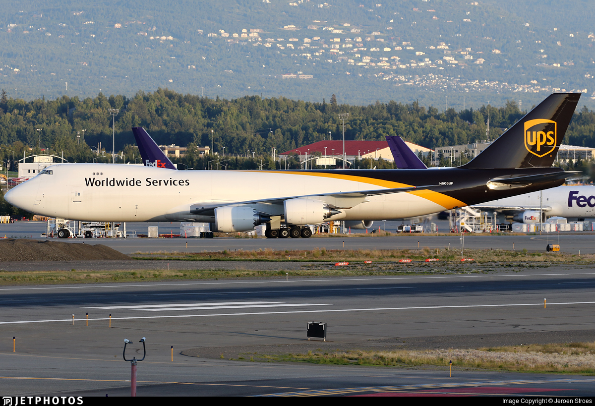 N608UP - Boeing 747-84AF - United Parcel Service (UPS)