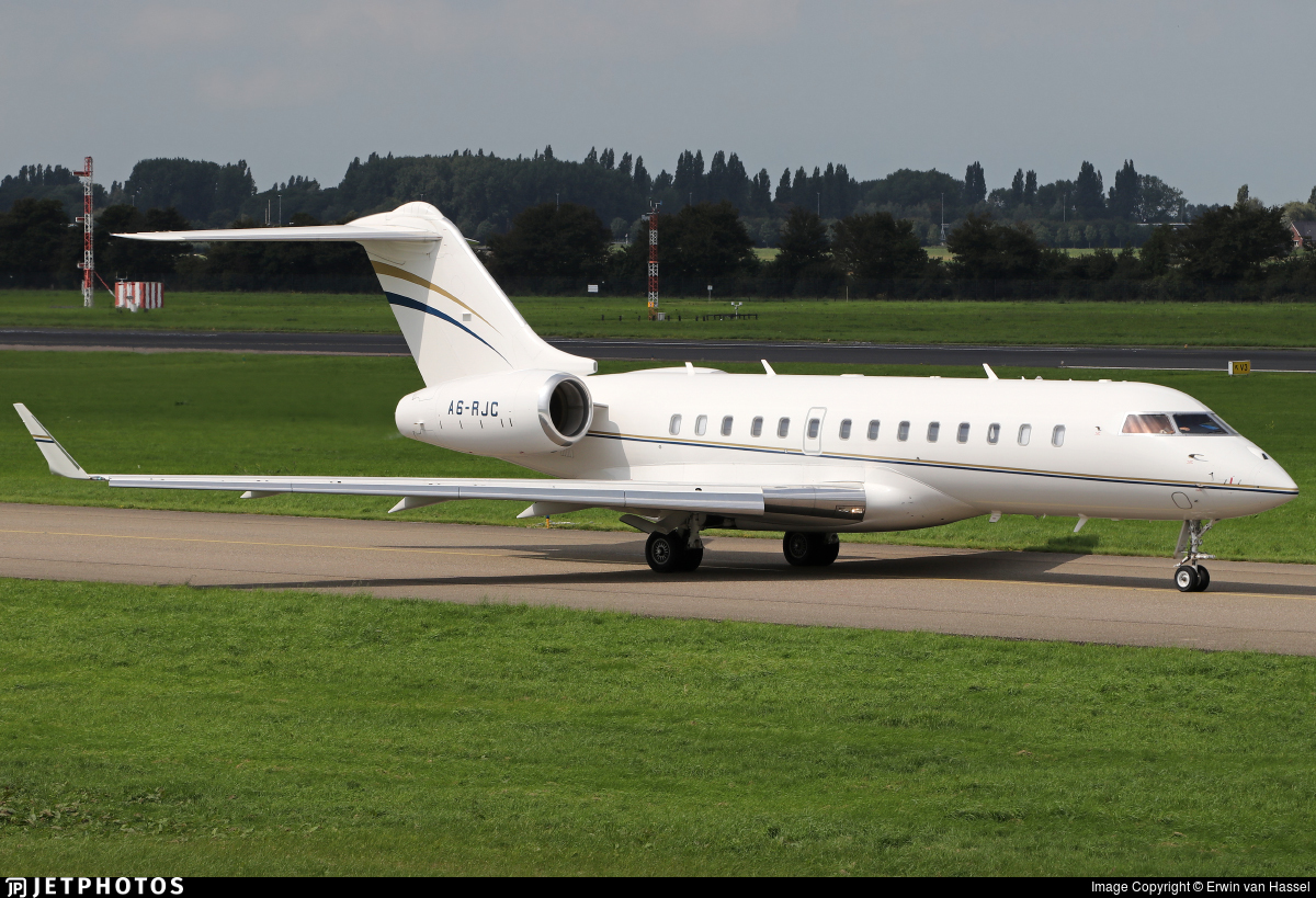 A6-RJC - Bombardier BD-700-1A11 Global 5000 - Private