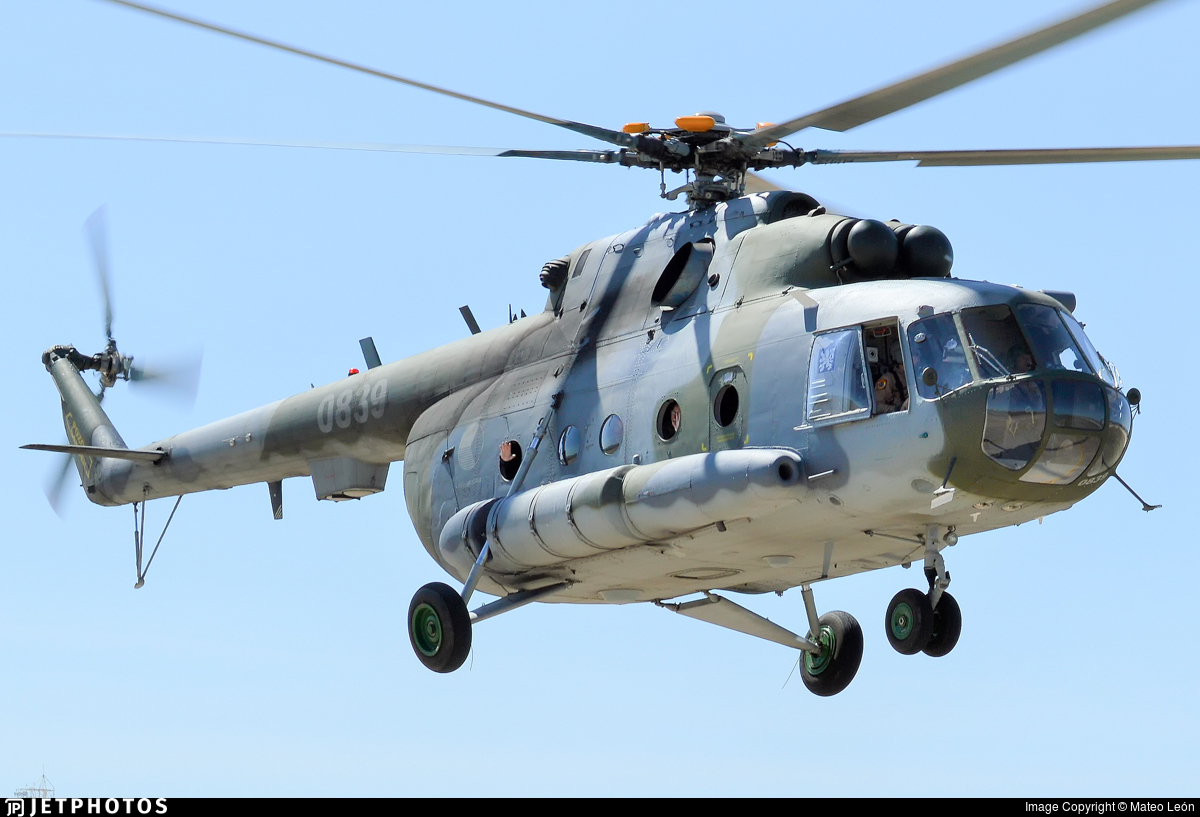 0839 - Mil Mi-17 Hip - Czech Republic - Air Force