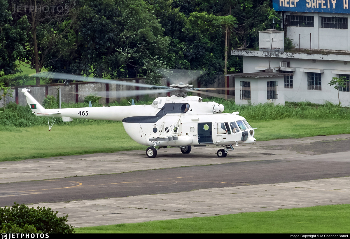 465 - Mil Mi-171Sh Baikal - Bangladesh - Air Force