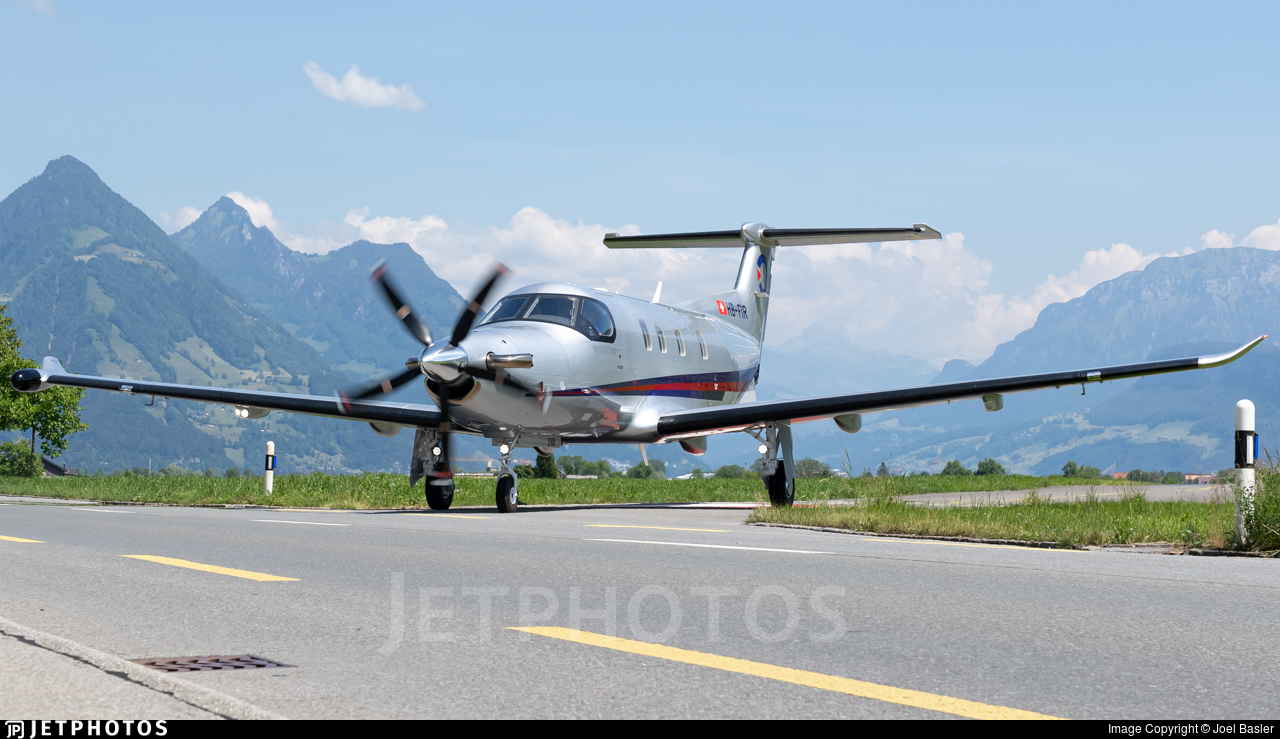 HB-FIR - Pilatus PC-12 NGX - Private