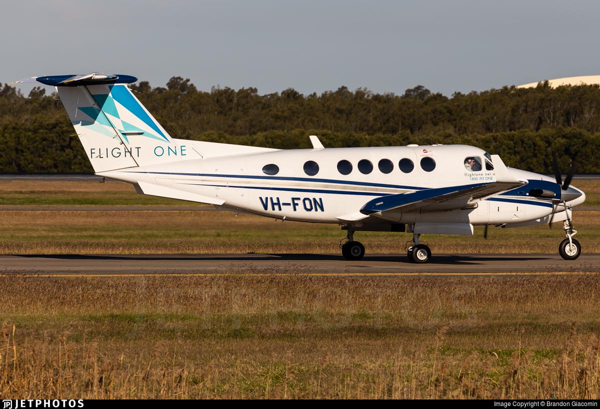 VH-FON - Beechcraft B200 Super King Air - Flight One