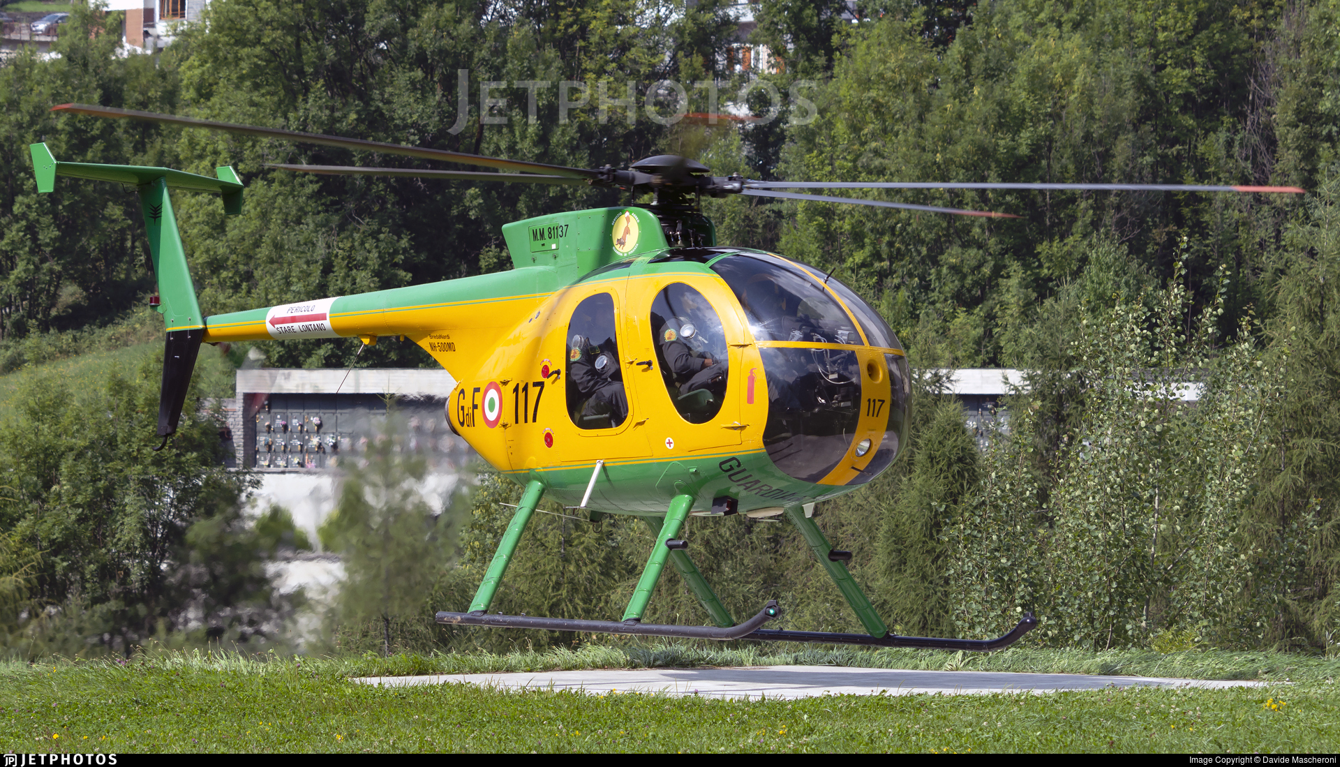 MM81137 - Breda Nardi NH-500MD - Italy - Guardia di Finanza