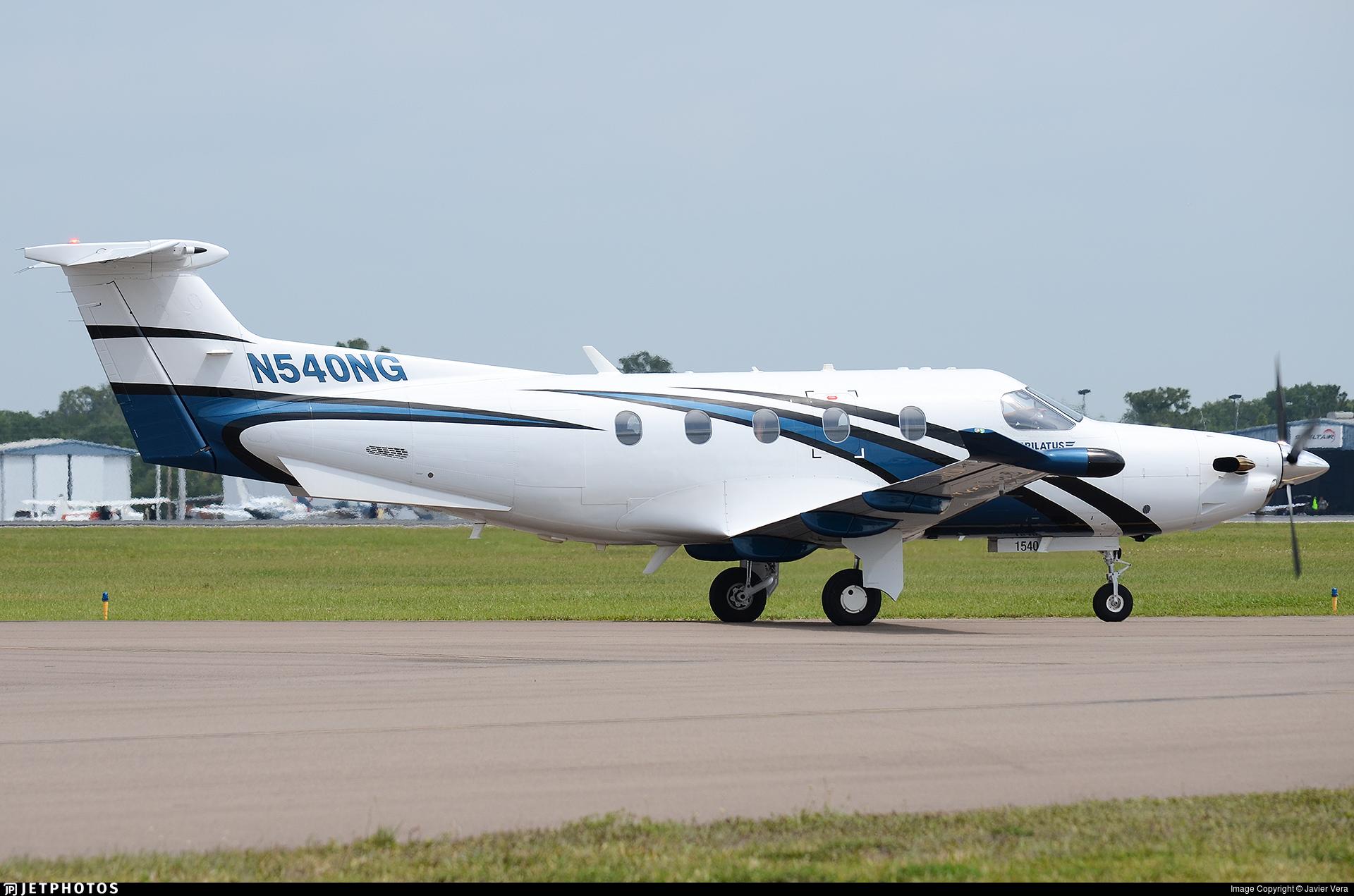 N540NG - Pilatus PC-12/47E - Private