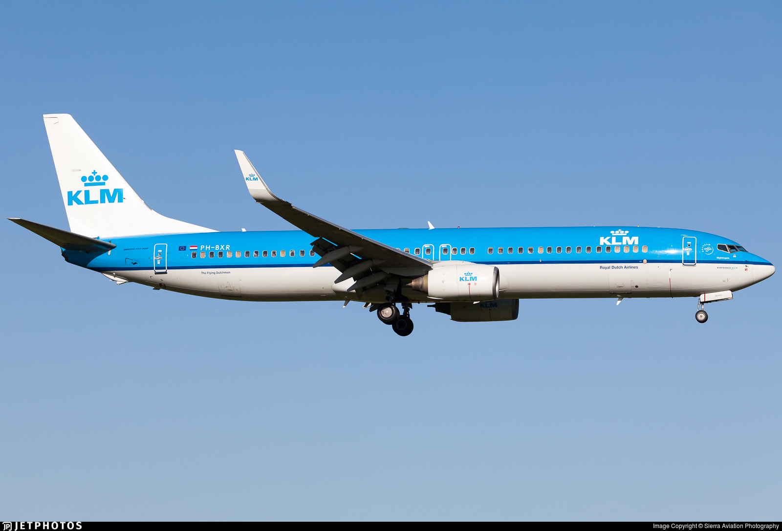 PH-BXR - Boeing 737-9K2 - KLM Royal Dutch Airlines