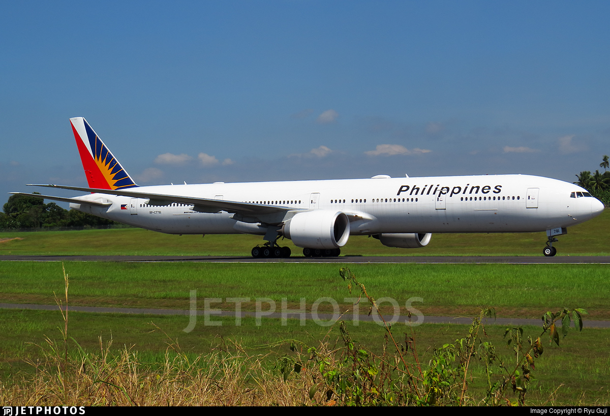 RP-C7781 - Boeing 777-3F6ER - Philippine Airlines
