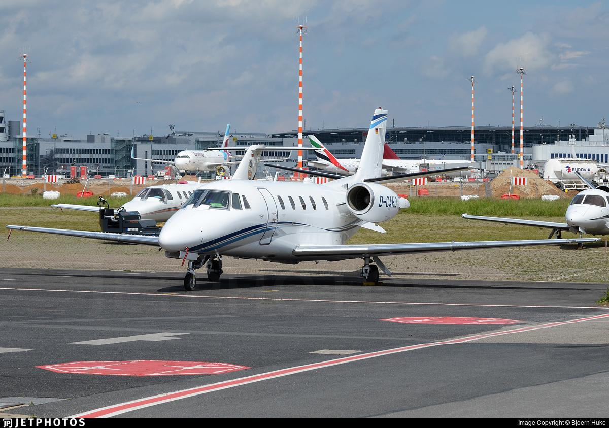 D-CAHO - Cessna 560XL Citation XLS Plus - Air Hamburg