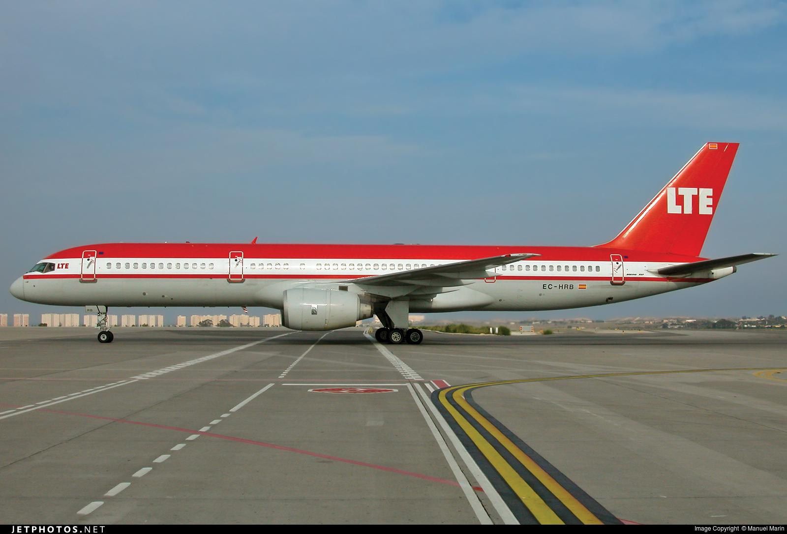 EC-HRB - Boeing 757-2G5 - LTE International Airways