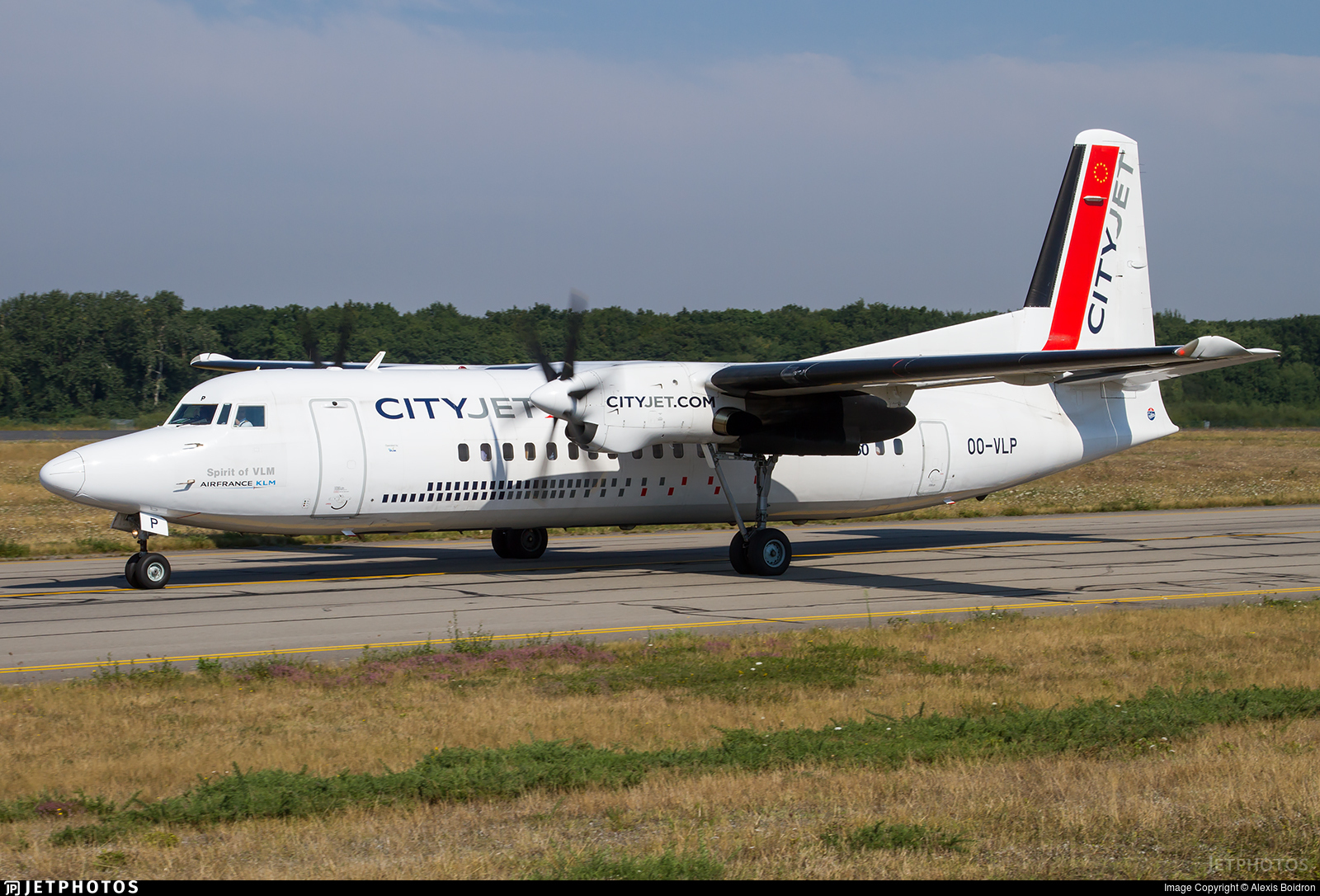 OO-VLP - Fokker 50 - CityJet