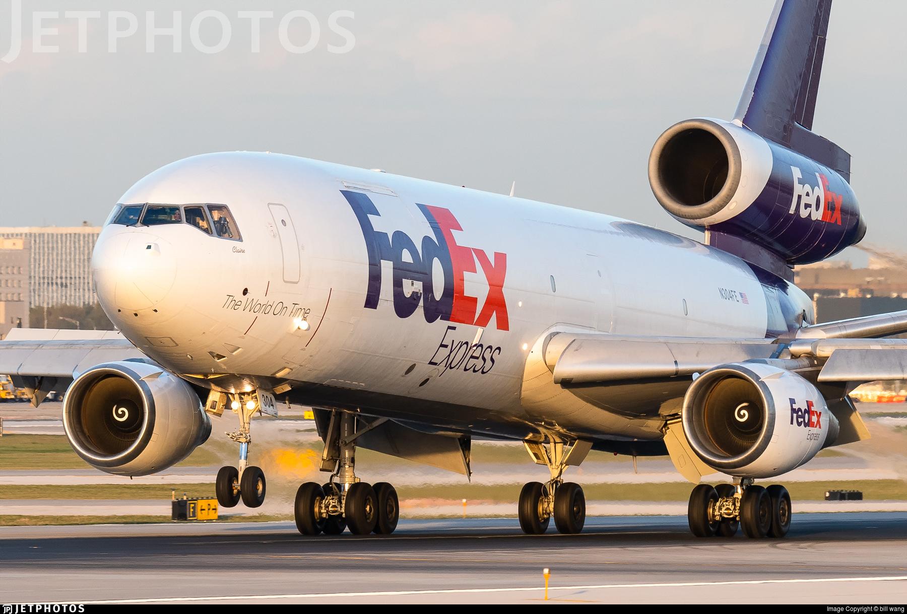 N304FE - McDonnell Douglas MD-10-30(F) - FedEx