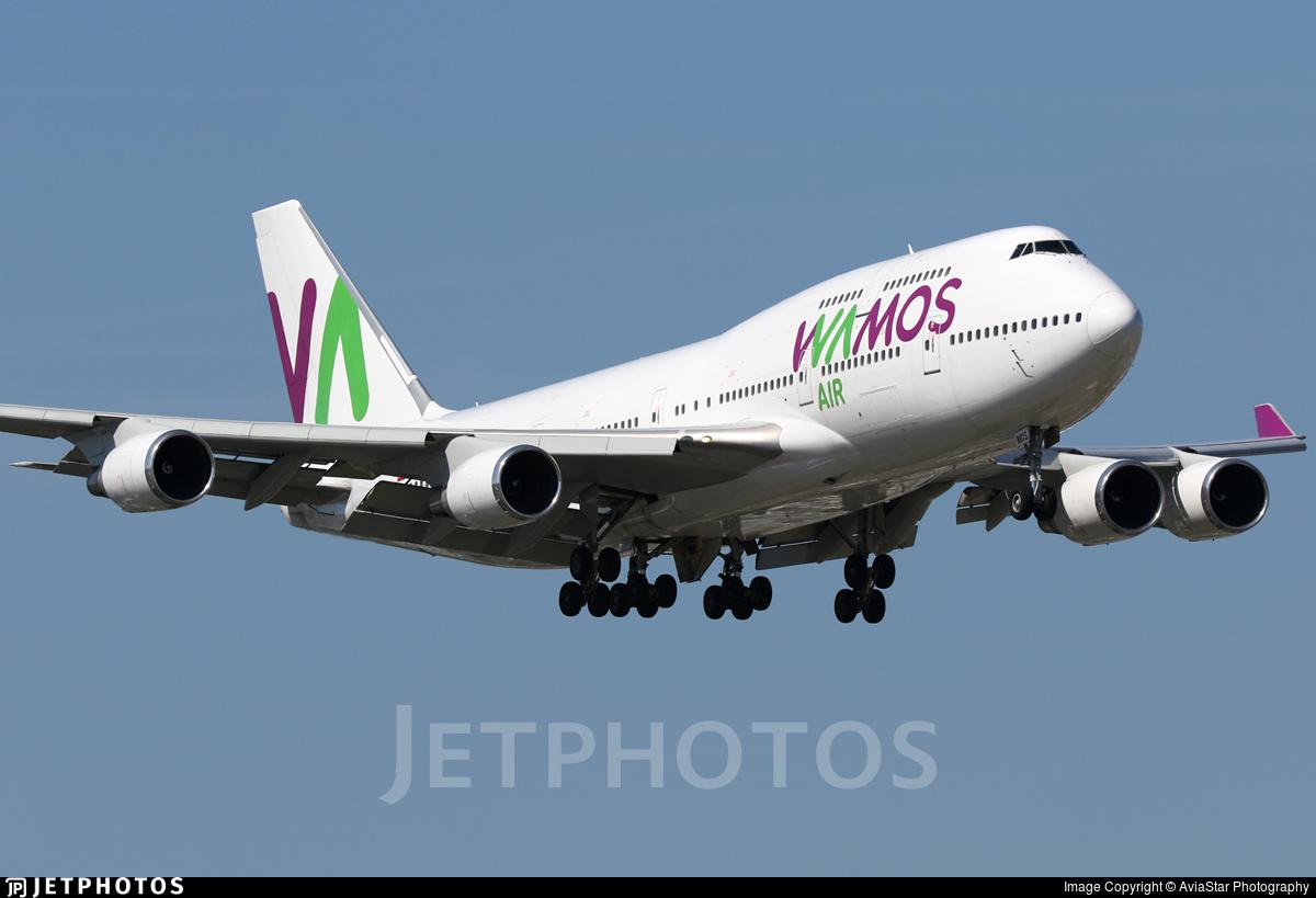 EC-MDS - Boeing 747-419 - Wamos Air
