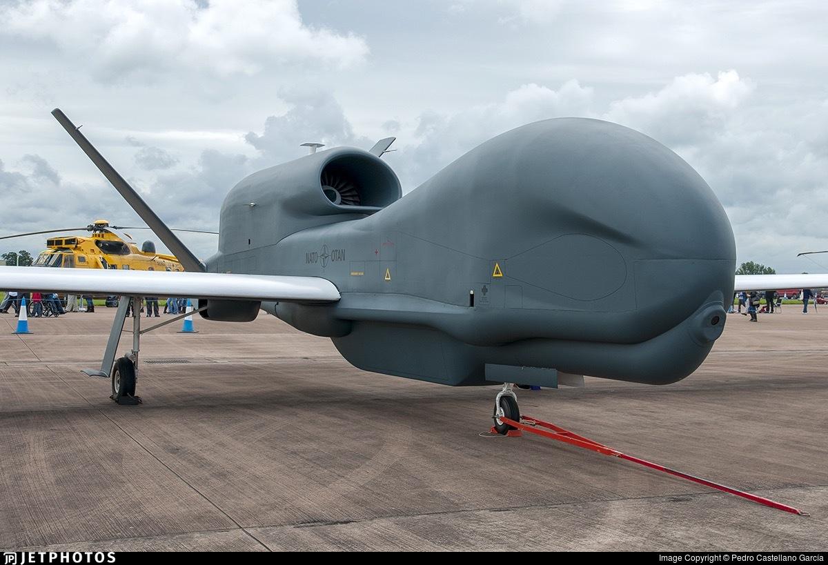 Northrop Grumman Rq 4a Global Hawk Nato Alliance Ground Surveillance