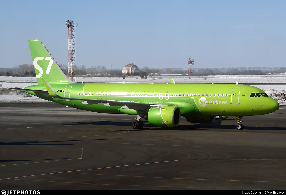 VQ-BSC - Airbus A320-271N - S7 Airlines