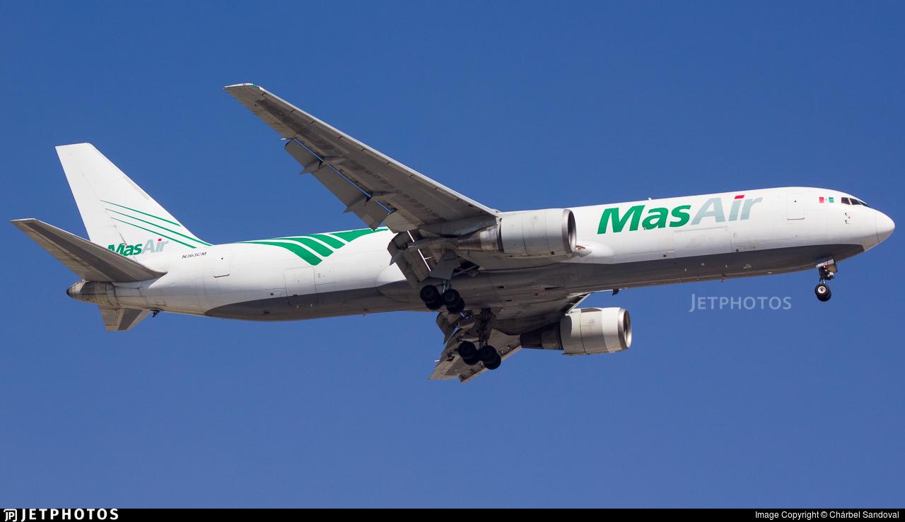 N363CM - Boeing 767-338(ER)(BDSF) - Mas Air