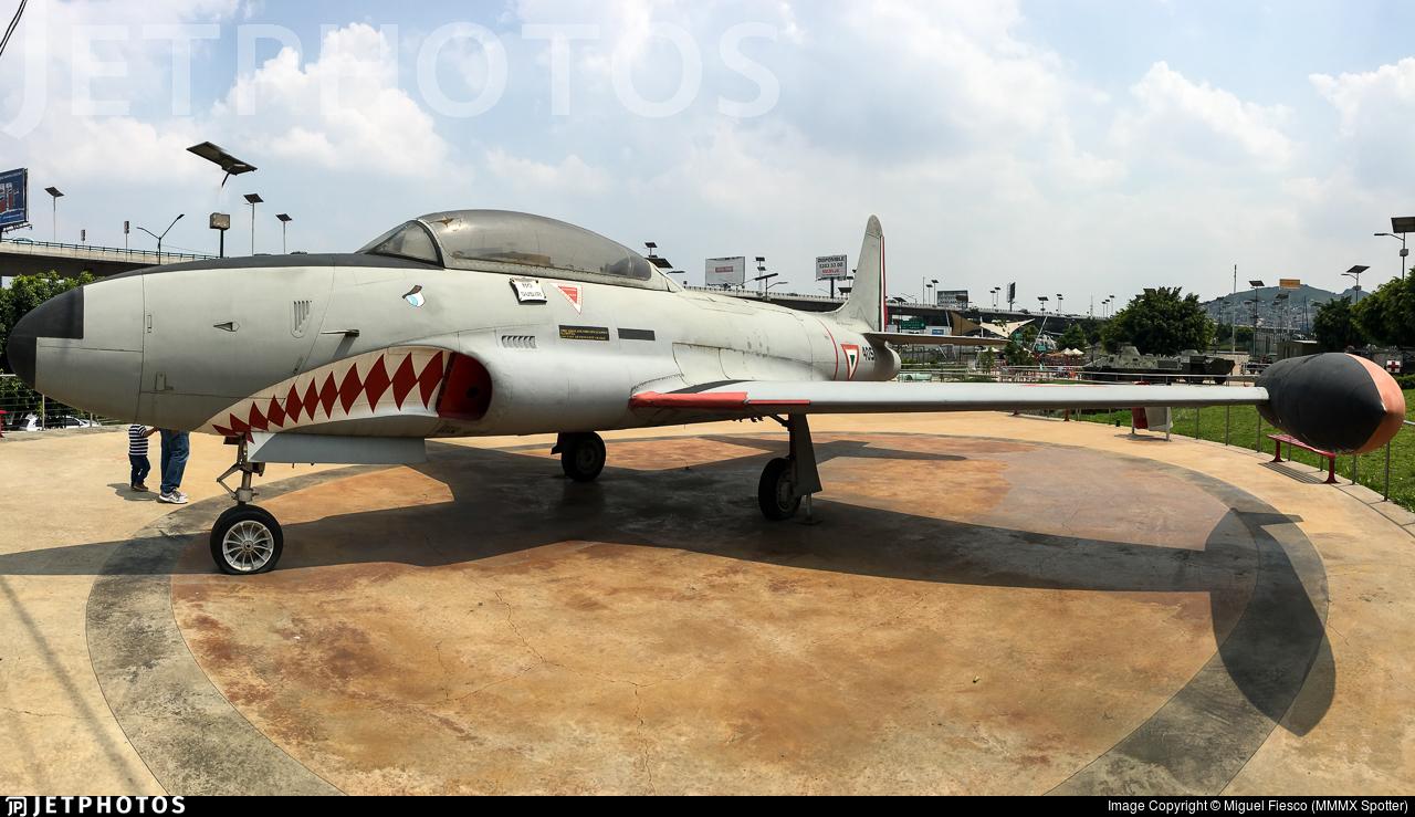 4051 - Lockheed T-33A Shooting Star - Mexico - Air Force