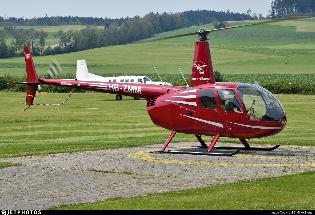 HB-ZMM - Robinson R44 Raven II - Airport Helicopter