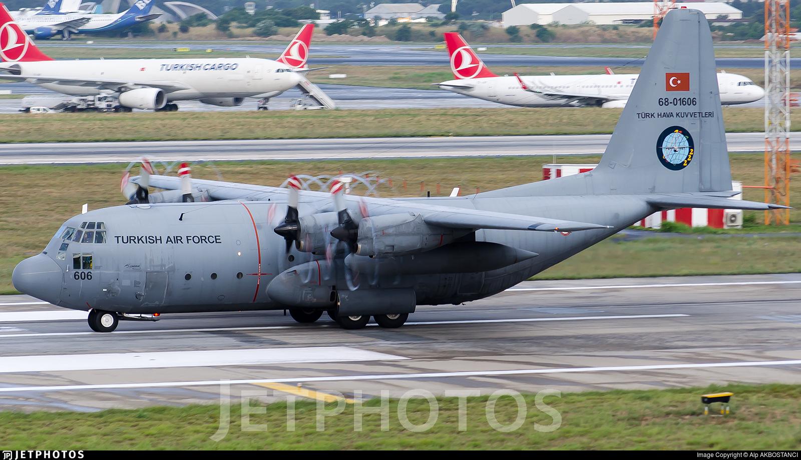 68-01606 - Lockheed C-130E Hercules - Turkey - Air Force