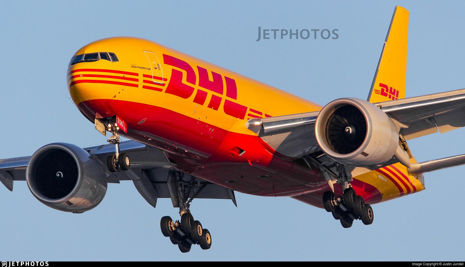 N706GT - Boeing 777-FZB - DHL (Southern Air)