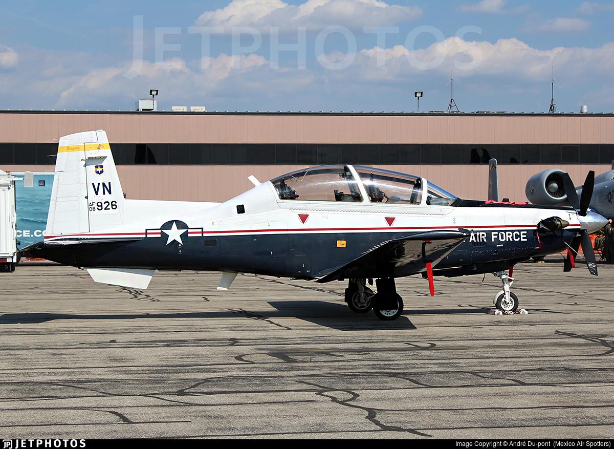 08-3926 - Raytheon T-6A Texan II - United States - US Air Force (USAF)