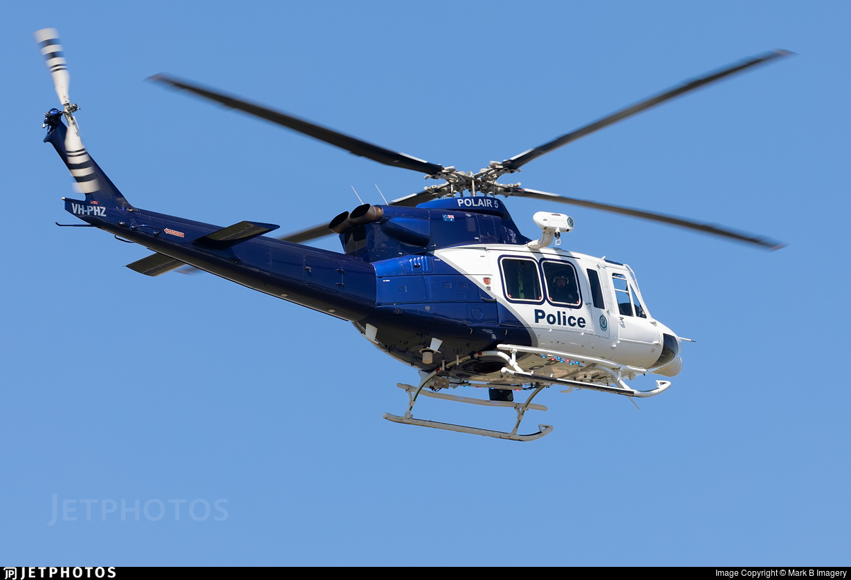 VH-PHZ - Bell 412EPI - Australia - New South Wales Police