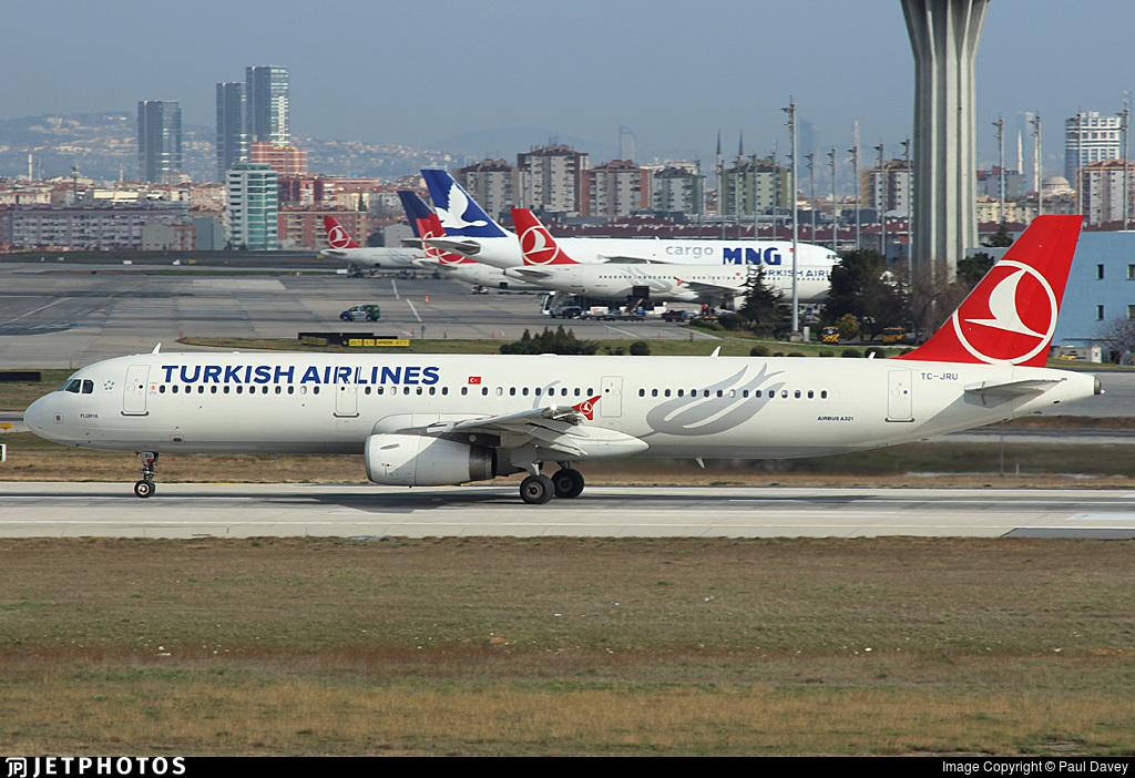 TC-JRU - Airbus A321-231 - Turkish Airlines