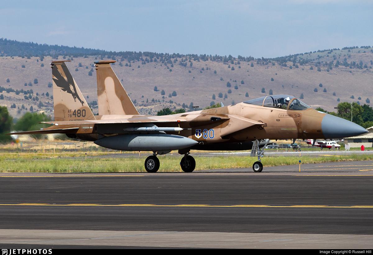 78-0480 - McDonnell Douglas F-15C Eagle - United States - US Air Force (USAF)