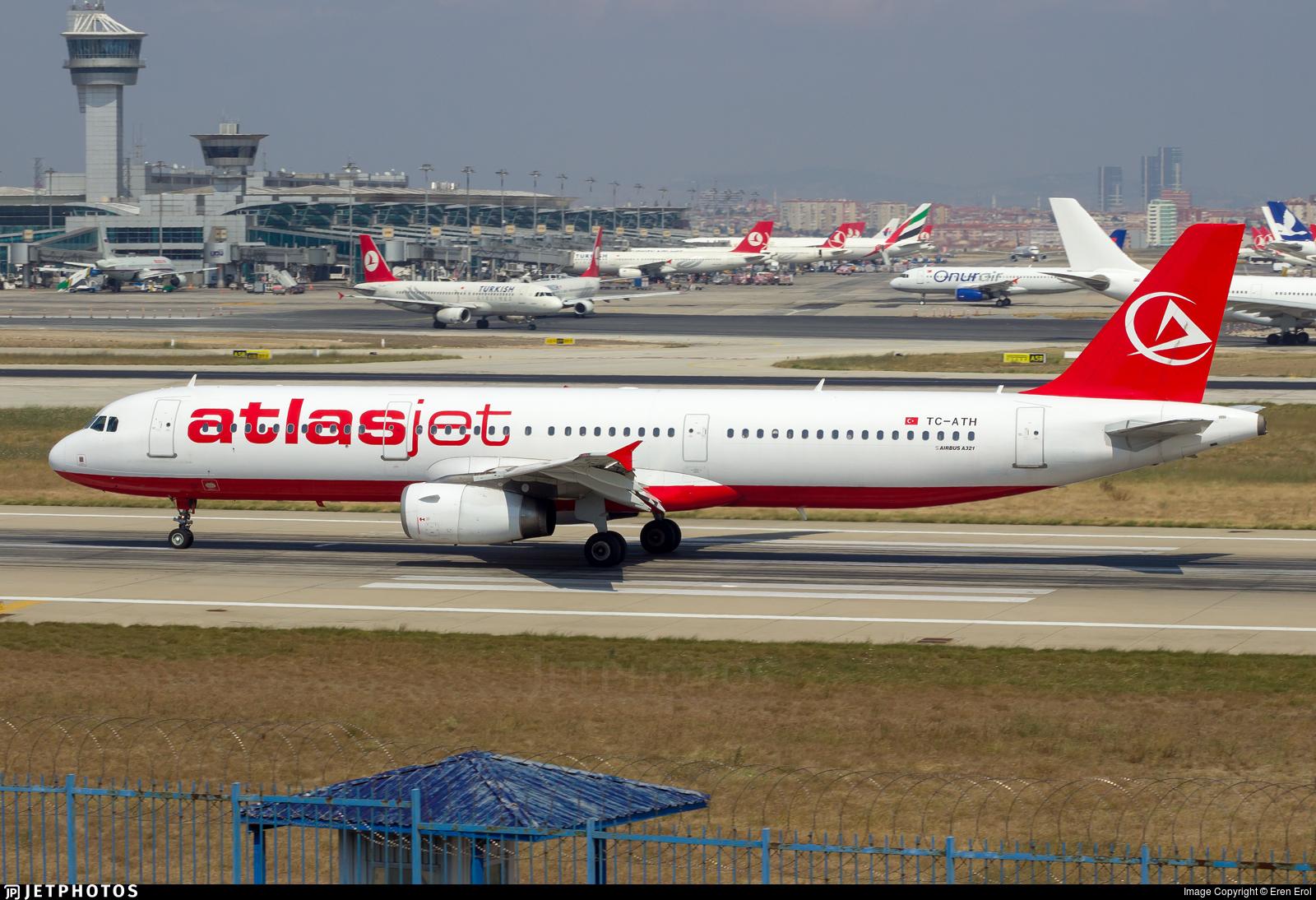 TC-ATH - Airbus A321-231 - AtlasJet
