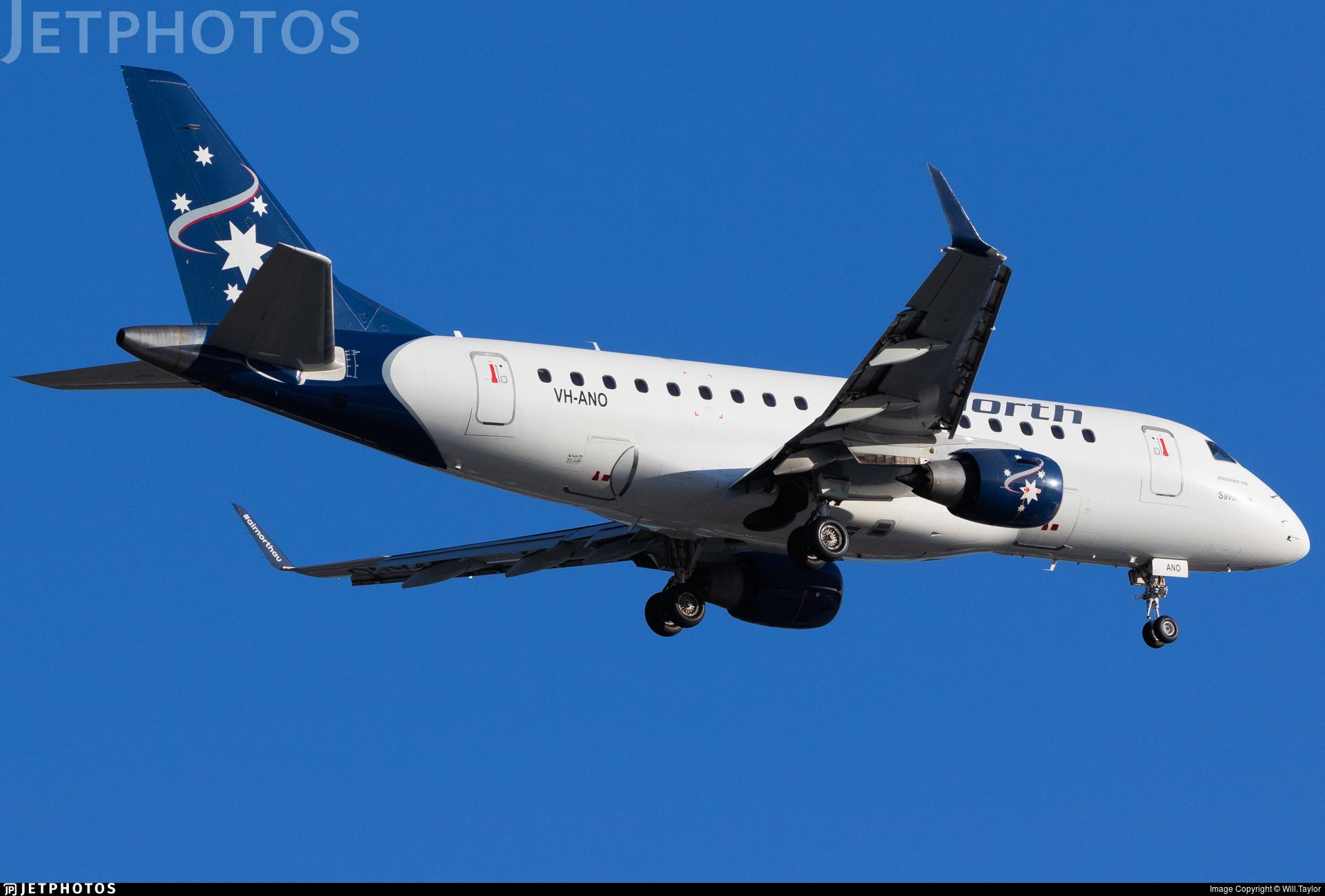 VH-ANO - Embraer 170-100LR - Air North