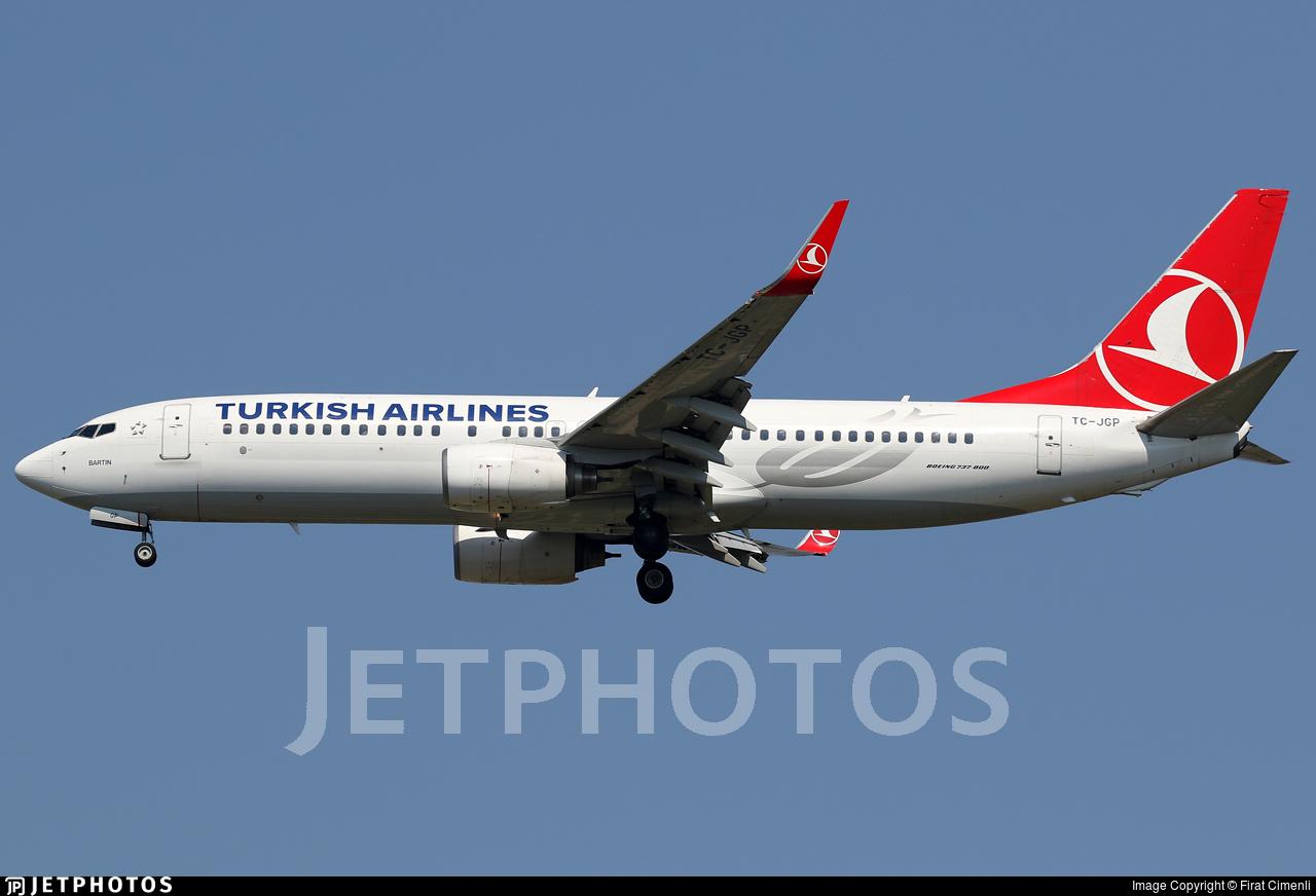 TC-JGP - Boeing 737-8F2 - Turkish Airlines