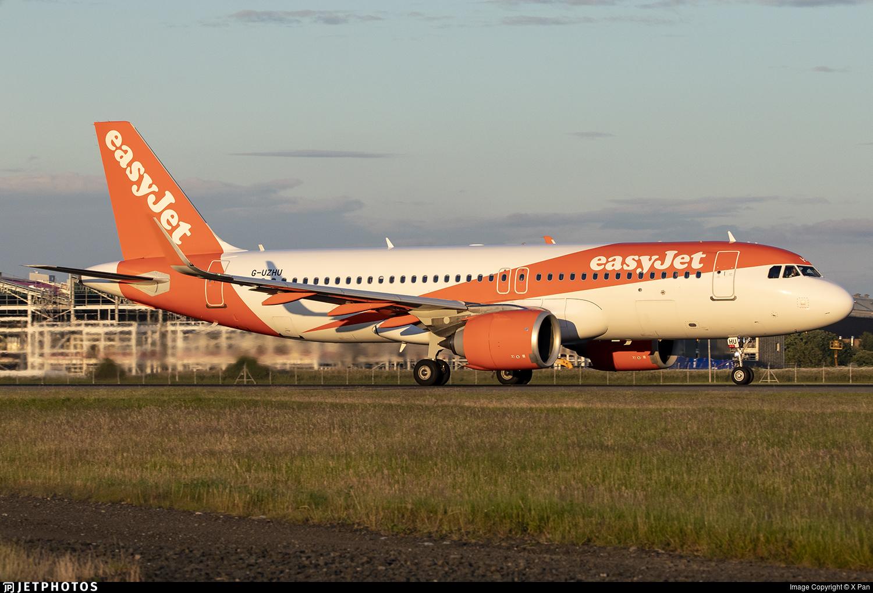 G-UZHU - Airbus A320-251N - easyJet
