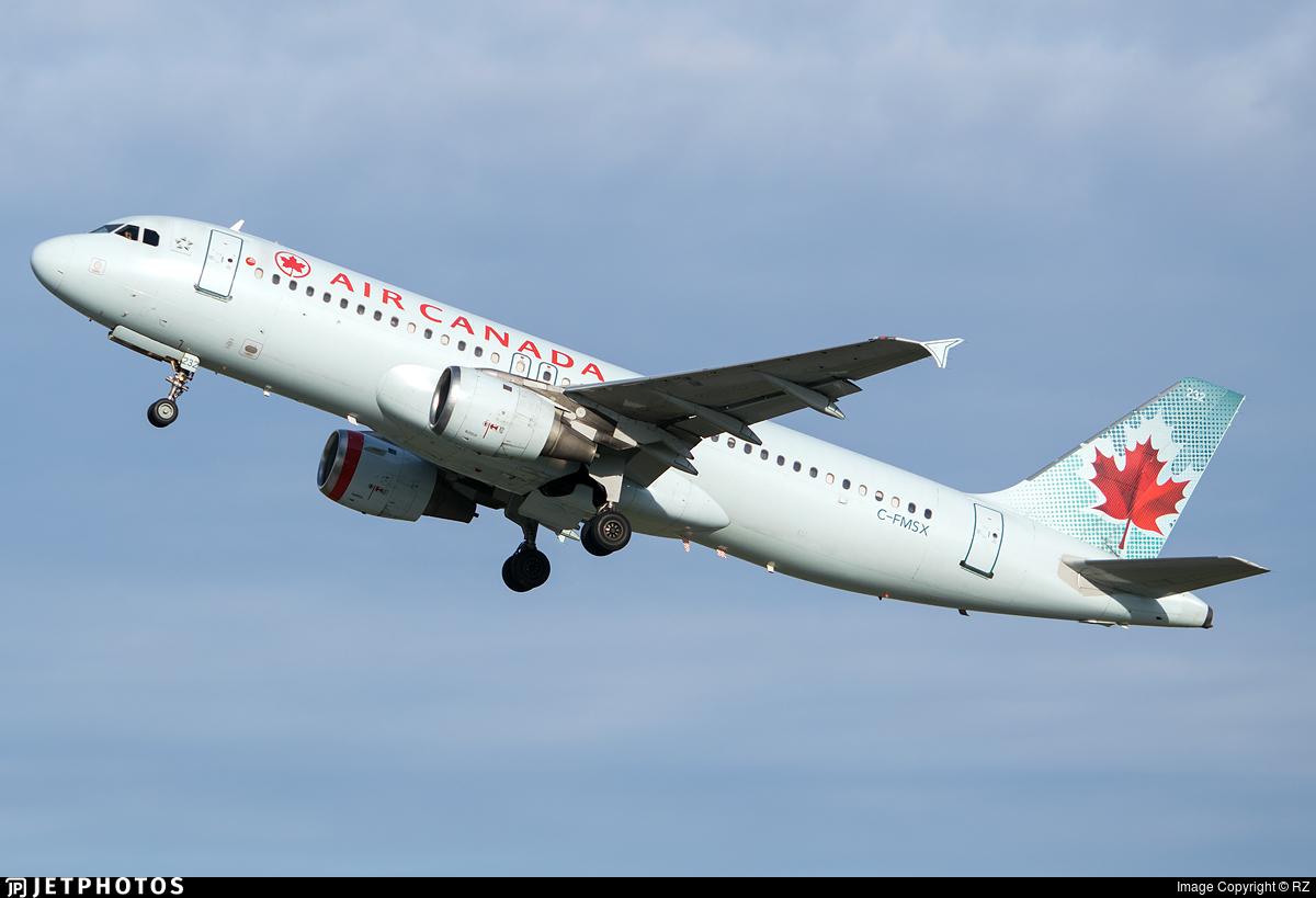 C-FMSX - Airbus A320-211 - Air Canada