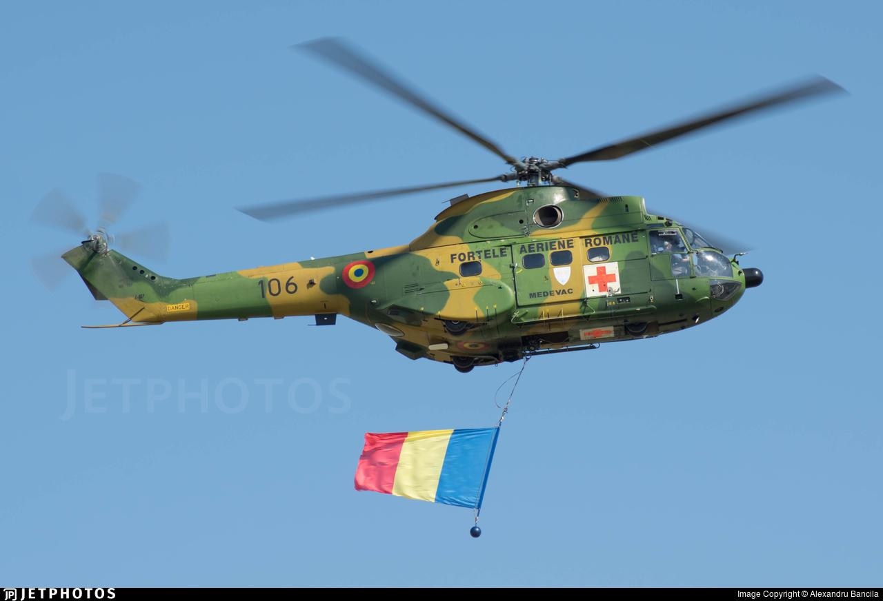 106 - IAR-330M Puma - Romania - Air Force