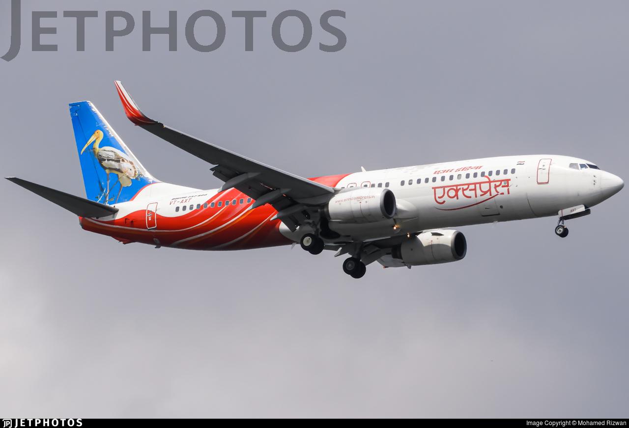 VT-AXT - Boeing 737-8HG - Air India Express