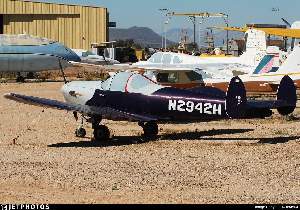 N2942H - Erco 415C Ercoupe - Private