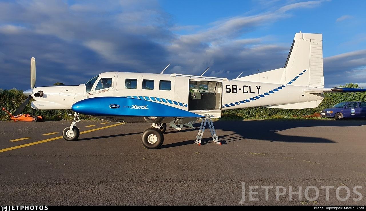 5B-CLY - Pacific Aerospace P-750 XSTOL - Irish Parachute Club