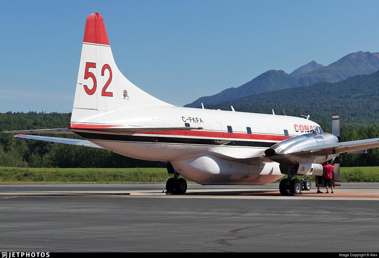 C-FKFA - Convair CV-580 - Conair Aviation