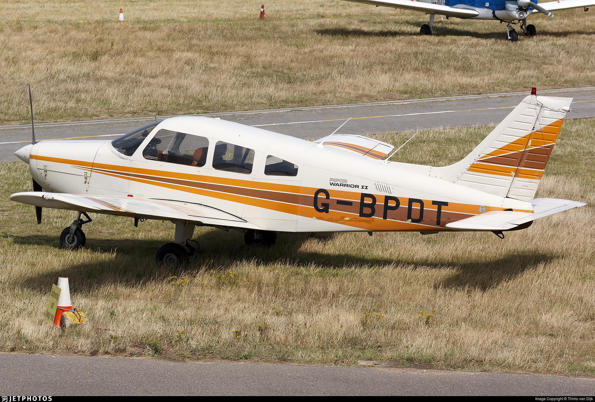 G-BPDT - Piper PA-28-161 Warrior II - Private