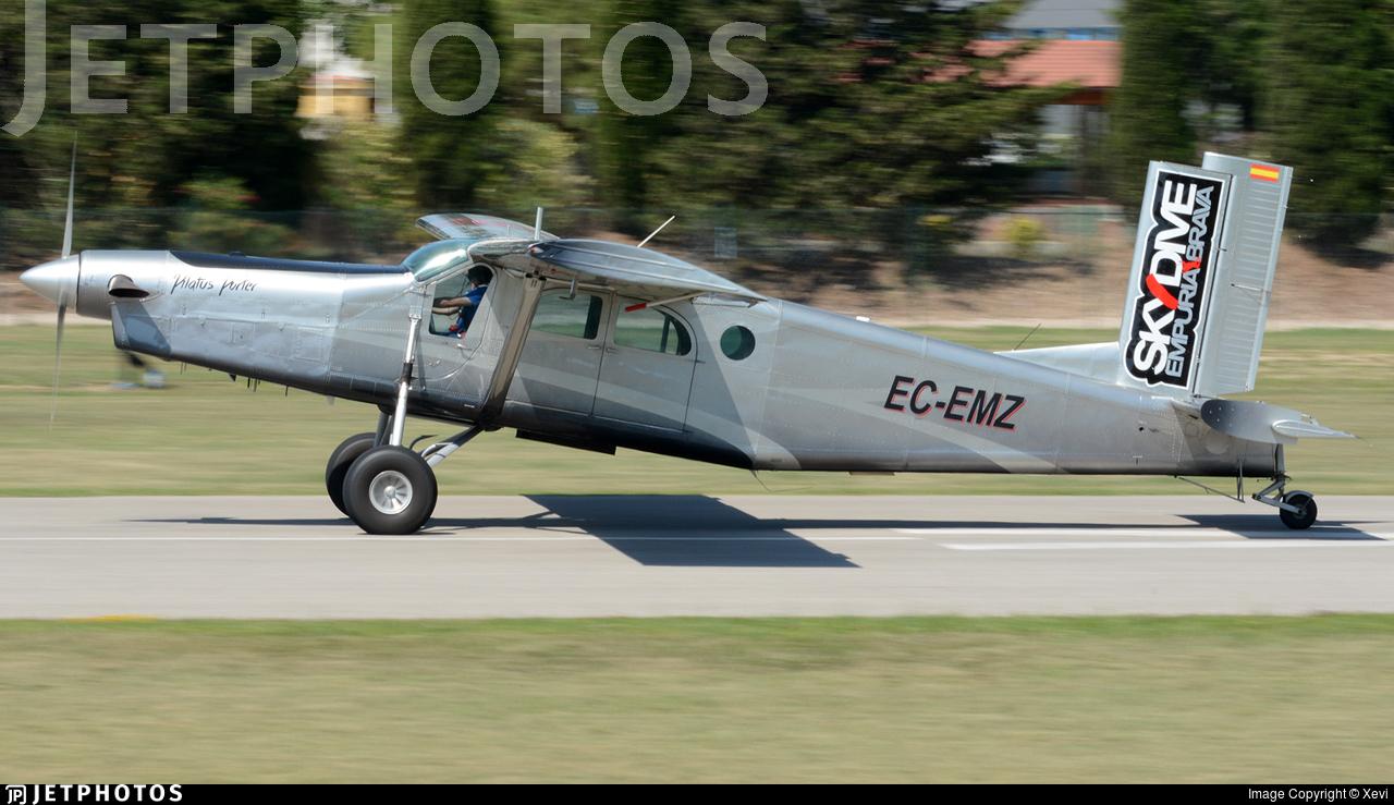 EC-EMZ - Pilatus PC-6/B2-H2 Turbo Porter - Jip-Aviació