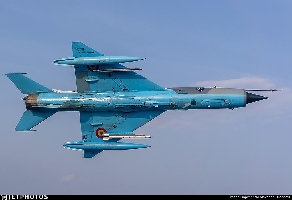 6840 - Mikoyan-Gurevich MiG-21MF Lancer C - Romania - Air Force