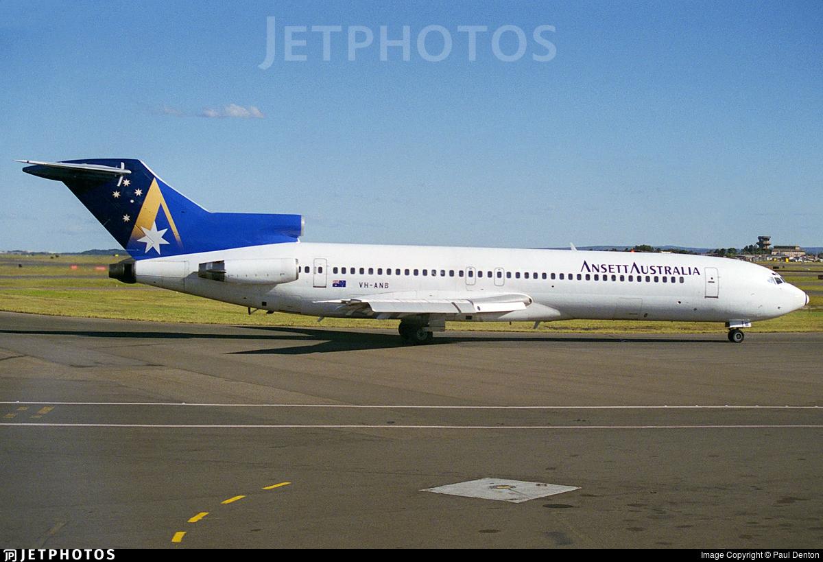 VH-ANB - Boeing 727-277(Adv) - Ansett Airlines of Australia