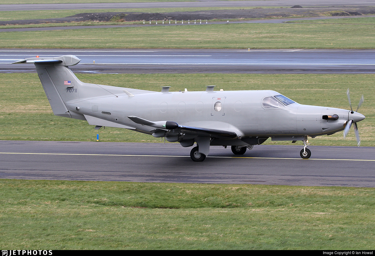 07-0711 - Pilatus U-28A - United States - US Air Force (USAF)
