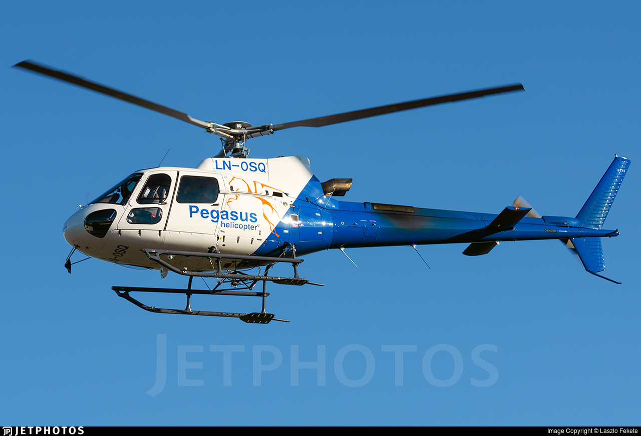LN-OSQ - Eurocopter AS 350B3 Ecureuil - Pegasus Helicopters