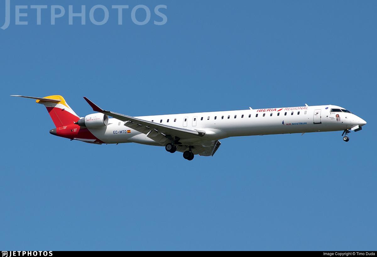 EC-MTO - Bombardier CRJ-1000 - Iberia Regional (Air Nostrum)