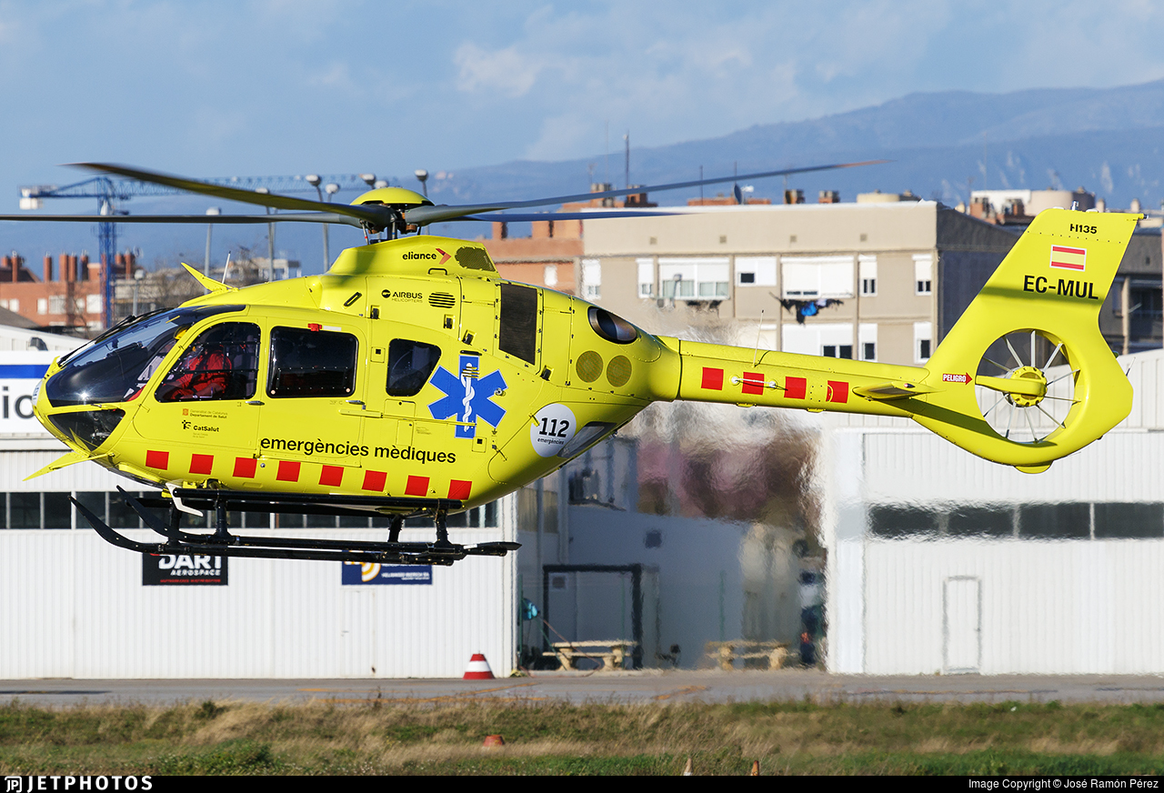 EC-MUL - Airbus Helicopters H135 - Eliance