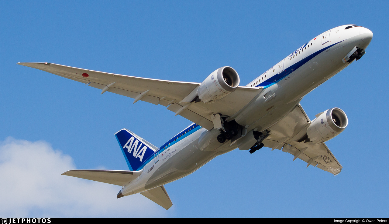 JA822A - Boeing 787-8 Dreamliner - All Nippon Airways (Air Japan)