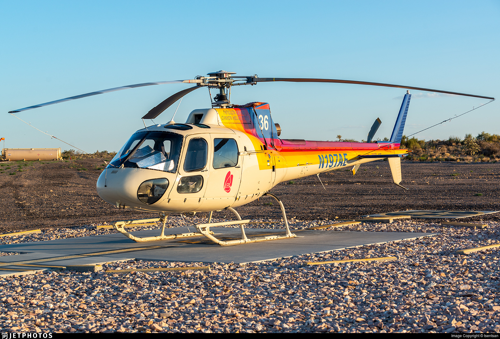N197AE - Aérospatiale AS 350 Ecureuil - Papillon Grand Canyon Helicopters