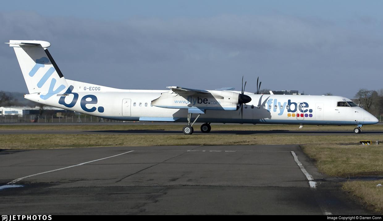 G-ECOG - Bombardier Dash 8-Q402 - Flybe